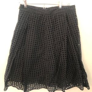 Vince Camuto Cotton fit and flare skirt